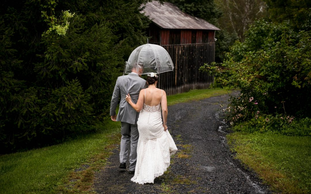 Don't Let A Rainy Wedding Day Get You Down