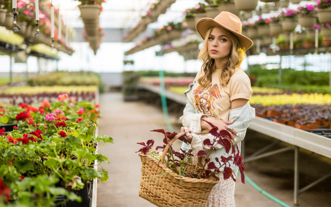 Senior Style Team: Greenhouse Glory